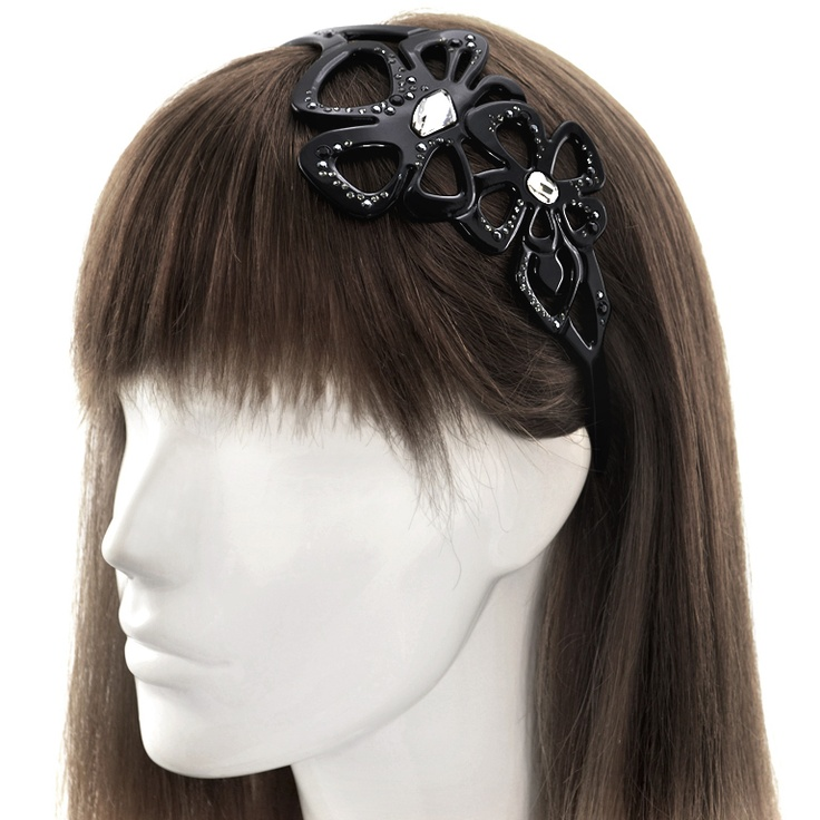Jamina Hair Band  The gem-studded Jamina Hair Band adds a shot of glam to every look; showcase with loose hair or a messy chignon.    Only USD 109.9 now, shop now at http://www.evitaperoni.com/Sale/Jamina-Hair-Band
