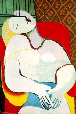 """""""The Dream"""" Pablo Picasso"""