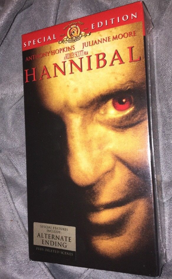 Hannibal (Special Edition VHS, 2002) Free Shipping - New