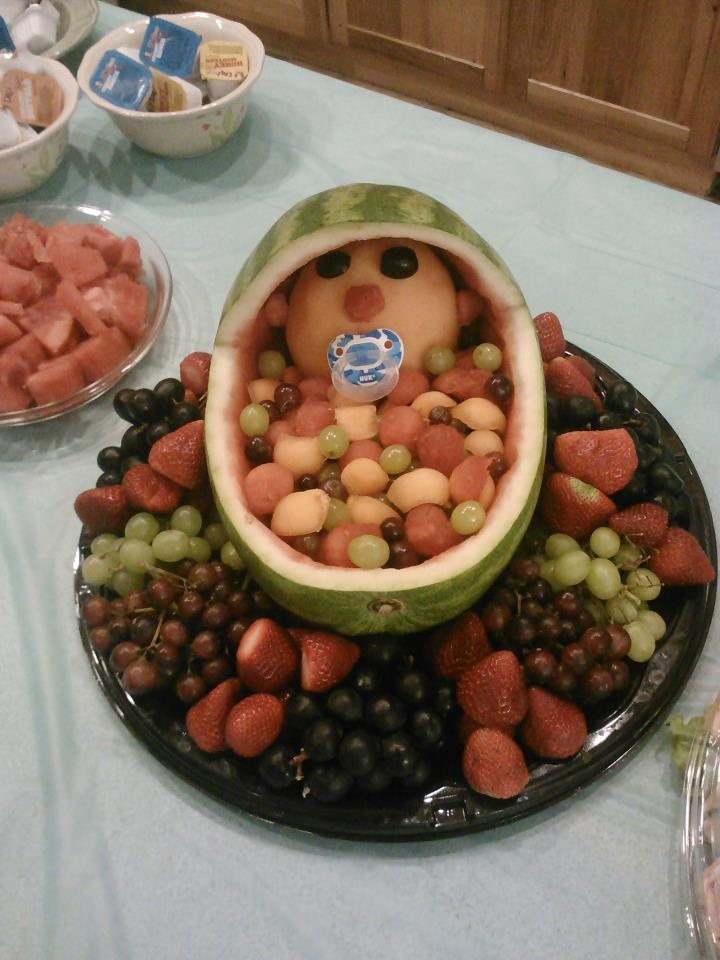 great baby shower idea! We threw a shower for our teacher and one of the moms made this