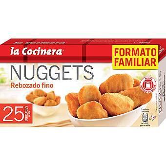 Nuggets rebozado fino La Cocinera (Carrefour y Supersol) - 2 unidades 1,5 puntos.