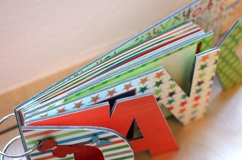 Danke Buch, Wortbuch, als Geschenk zur Verabschiedung der Lehrerin mit Extraseiten zum Gestalten für die Kinder