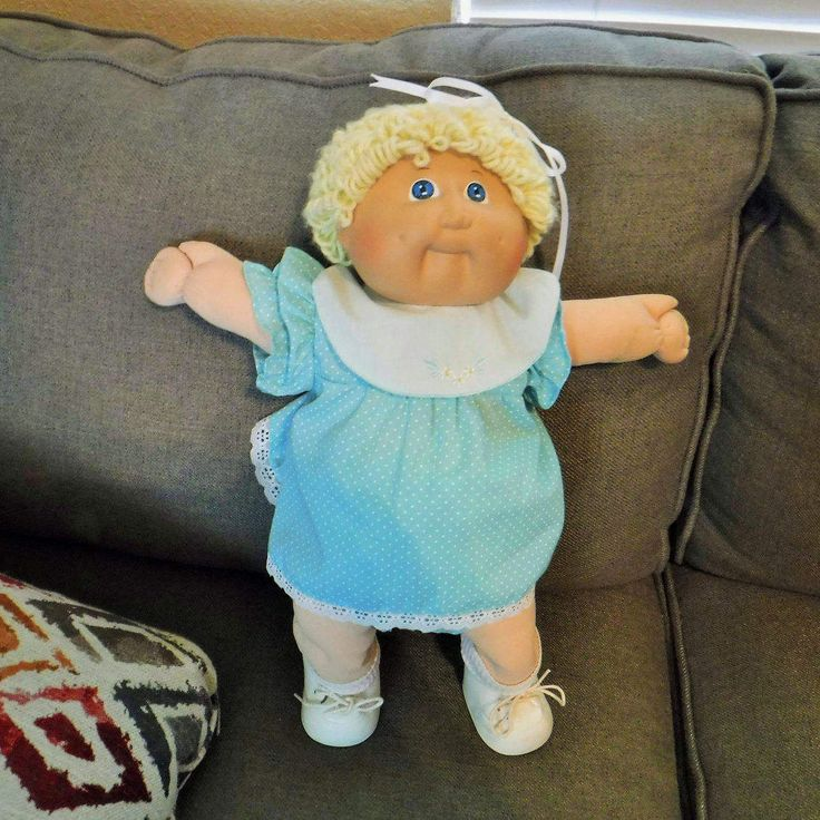 Vintage Cabbage Patch Kid 1985 Girl Doll, Xavier Roberts, Light Hair Cabbage Patch Kids,Original Clothes, Appalachian Artworks Coleco by BeautyMeetsTheEye on Etsy