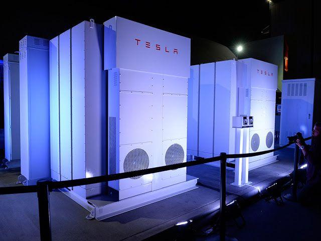 Voglio Risparmiare Energia: E' stato aperto il più grande impianto di stoccaggio energia al mondo