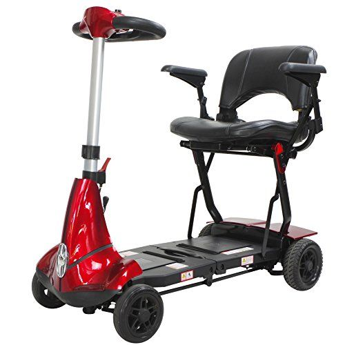 Mobie Plus Folding Travel Scooter Red For Sale https://wheelchairs.life/mobie-plus-folding-travel-scooter-red-for-sale/