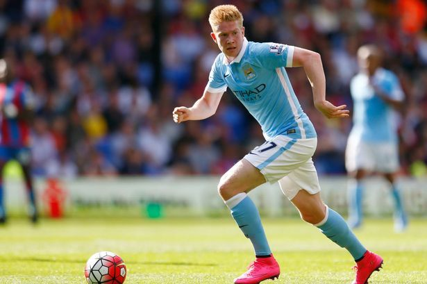 Sept. 12th. 2015: Manchester City's Kevin De Bruyne enjoyed a productive debut against Crystal Palace.