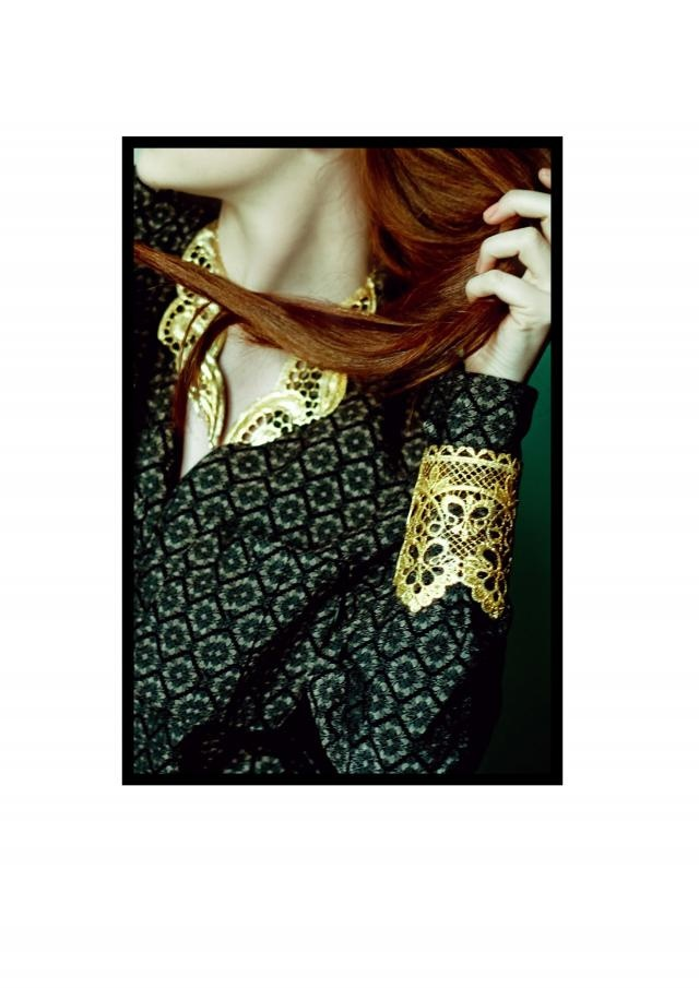 Elena Kougianou Lace Cuffs @ www.eternal-optimist.com editorial!