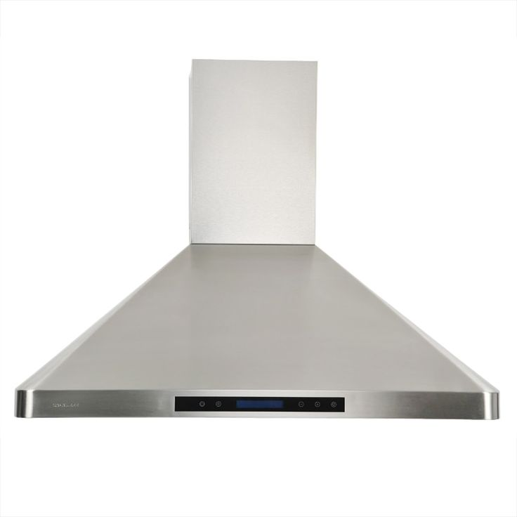 Cavaliere-Euro 36-inch Wall-mount Range Hood (Cavaliere-Euro AP238-PS31-36 Range Hood), Silver stainless steel
