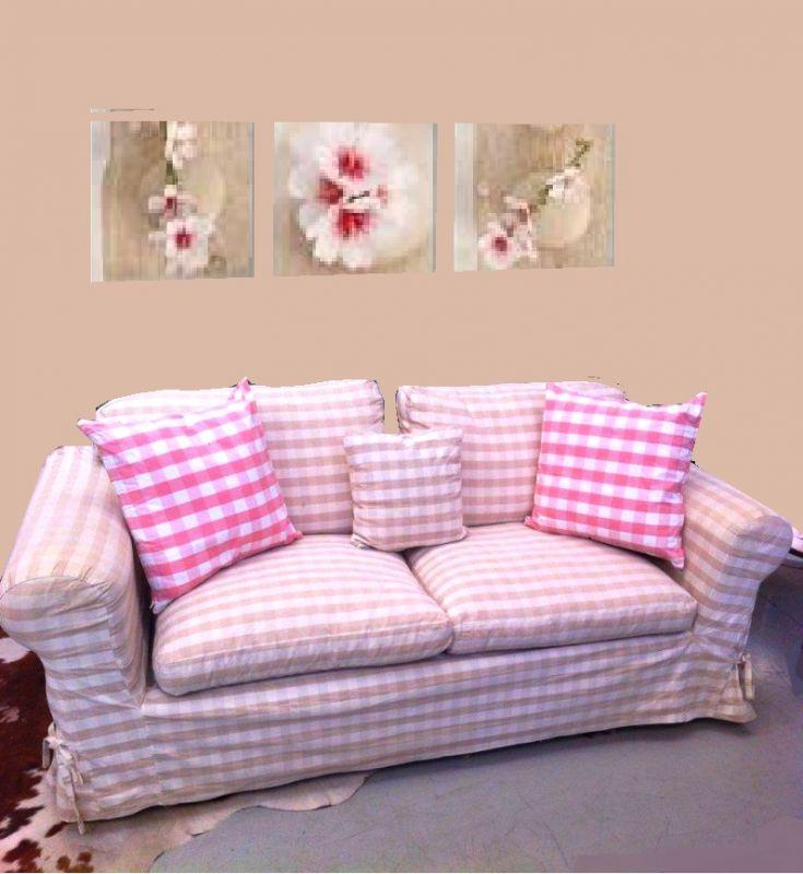 Tessuti provenzali per divani cuscini per divani with for Cuscini shabby per divani