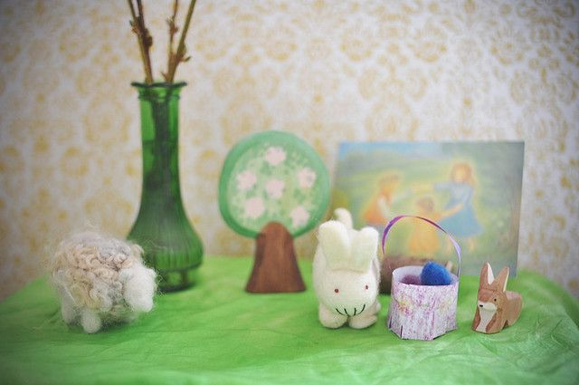 Spring Nature Table |