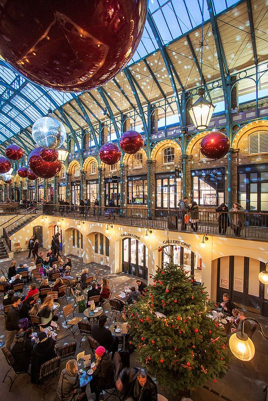 Christmas at Covent Garden, London