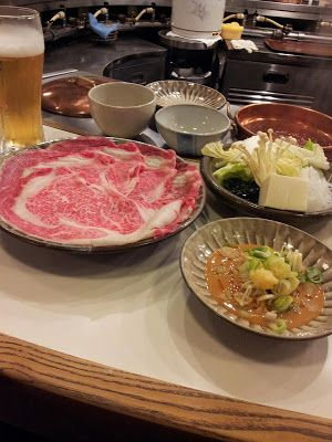 Eating All the Way!: Shabusen @ Ginza Core