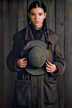 Mattie Ross from True Grit, with Matt Damon and more important: Jeff Bridges *.*