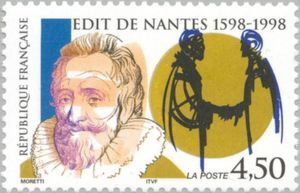 400th anniversary of the Edict of Nantes