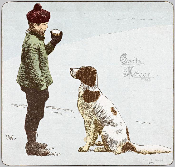Godt Nytaar!, Werenskiold 1890 - Erik Werenskiold - Wikipedia
