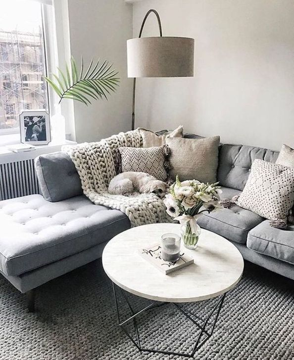 30 Extraordinary Living Room Design Ideas With Lighting Trenduhome Small Apartment Living Room Livingroom Layout Living Room Scandinavian