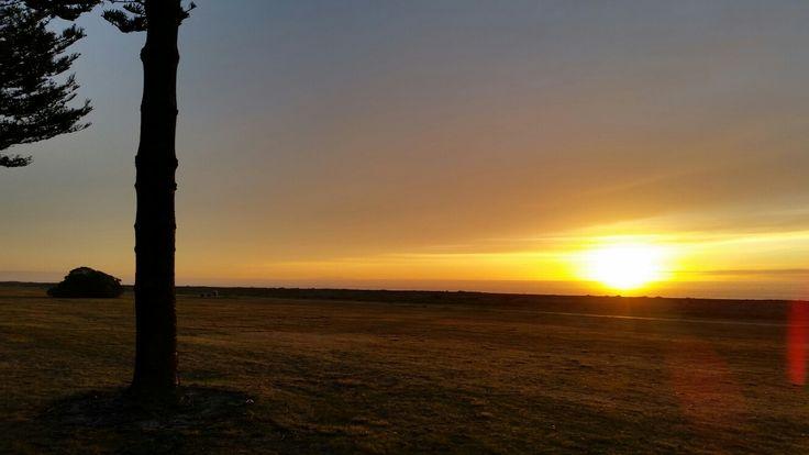 Sunrise over Napier