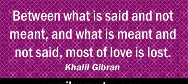khalil gibran | Khalil Gibran quotes from ILuvQuotes.com