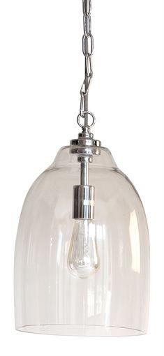 Neptune Shaftesbury Glass Pendant, Small | Lighting