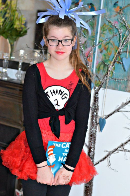 Cat in the Hat world book day, thing 2