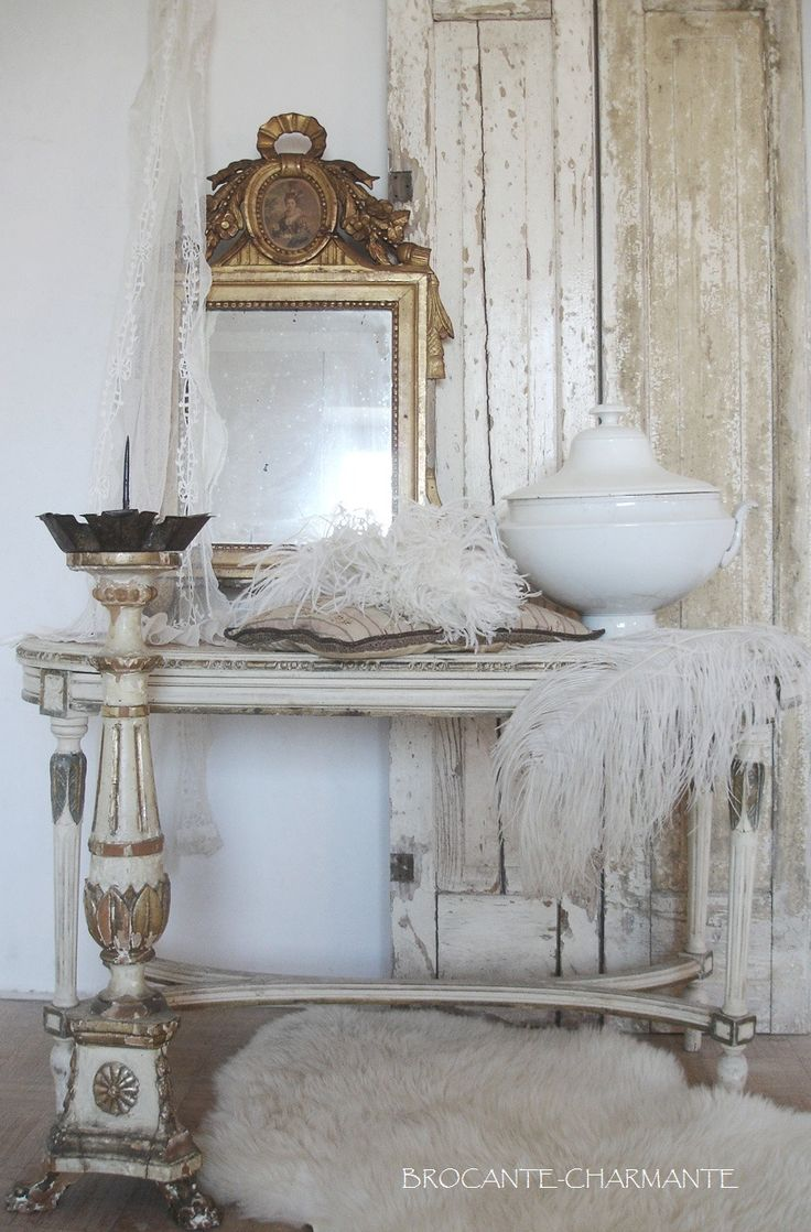 108 best brocante charmante images on pinterest shabby chic style shabby vintage and vignettes. Black Bedroom Furniture Sets. Home Design Ideas