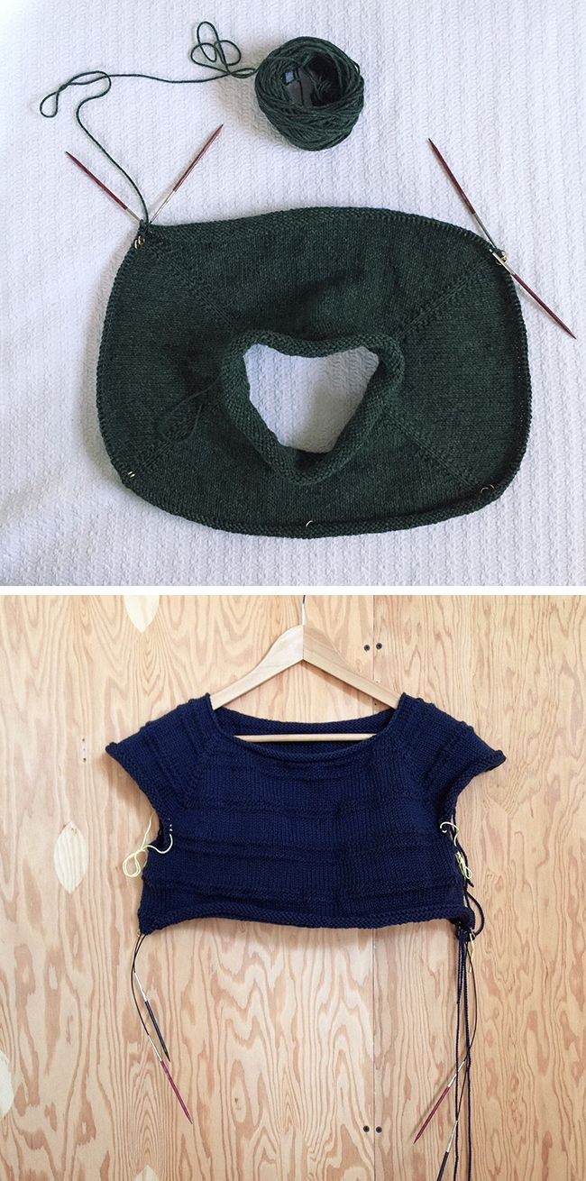 349 best Top-down knitting images on Pinterest | Baby knitting ...