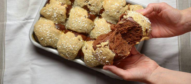 Brioche de chocolate y avellanas de Iban Yarza. El Comidista