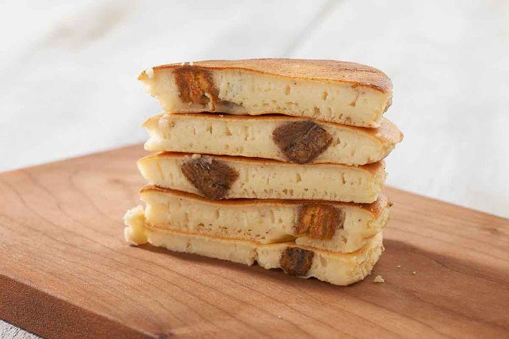 バナナリコッタチーズパンケーキ | レシピ | 小島屋