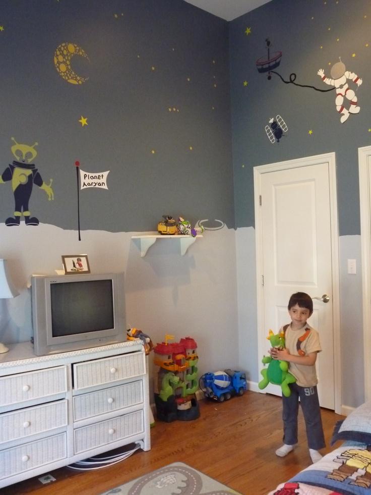 Boys Space Room 46 best space room images on pinterest | bedroom ideas, kids rooms
