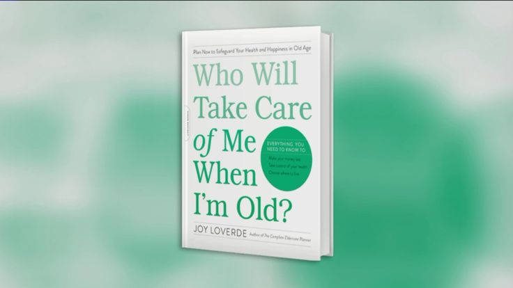 The challenges and solutions to problems people of all ages may face as they grow older from authorJoy Loverde.  www.elderindustry.com/  To purchase a copy of the book:  Who Will Take Care of Me When I'm Old?: Plan Now to Safeguard Your Health and Happiness in Old Age