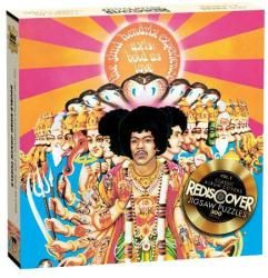 Jimi Hendrix jigsaw puzzle: Axis Bold As Love (300 piece/2-sided) Only $12.97