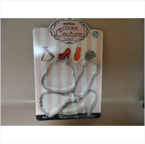 COOKIE CUTTERS. 4 PACK. NEW IN PACKAGE 782993039532 on eBid United States