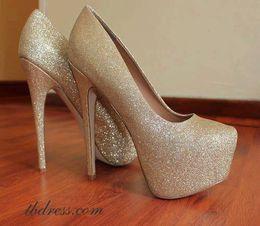 Golden Heels by TBdress - I Love Shoes, Bags & Boys