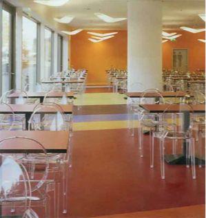 aronsons floor covering commercial linoleum installation sheet linoleum vinyl rubber linoleum pinterest - Linoleum Restaurant Interior