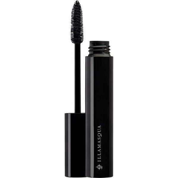 Illamasqua Masquara ($22) ❤ liked on Polyvore featuring beauty products, makeup, eye makeup, mascara, lengthening mascara, smudge proof mascara and illamasqua