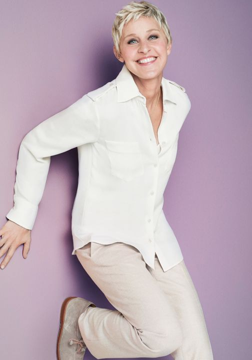 Check up on our lovely COVERGIRL Ellen Degeneres!
