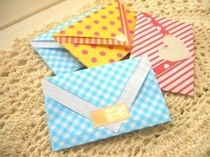 簡単!折り紙で作る小さな封筒ラッピング