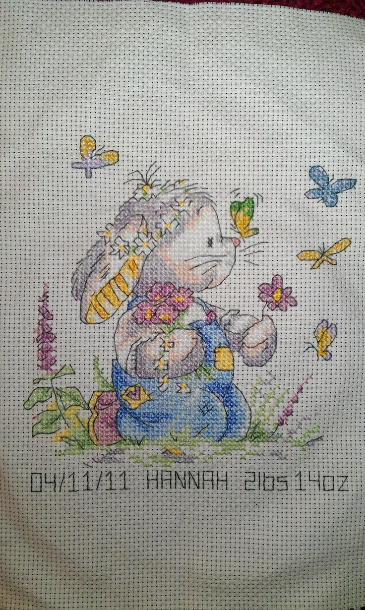 17 Best Images About Cross Stitch Birth Samplers On