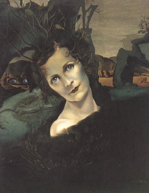 Portrait of Lady Louis Mountbatten (1940) Salvador Dali