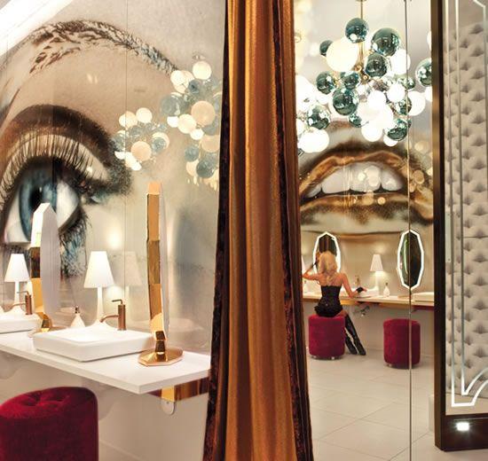 Vanity Night Club | Hard Rock Hotel | Las Vegas.  Womens Restroom is my dream ho…
