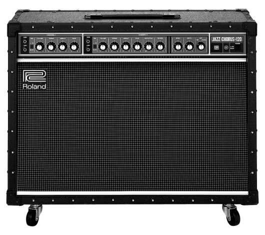 In 1975, Roland welcomed the arrival of the first JC-120. A revolution in guitar amplifier technology, the JC-120 Jazz Chorus looked and sounded like no other amp. Thirty years later, the JC-120 remains in high demand by guitarists around the world.