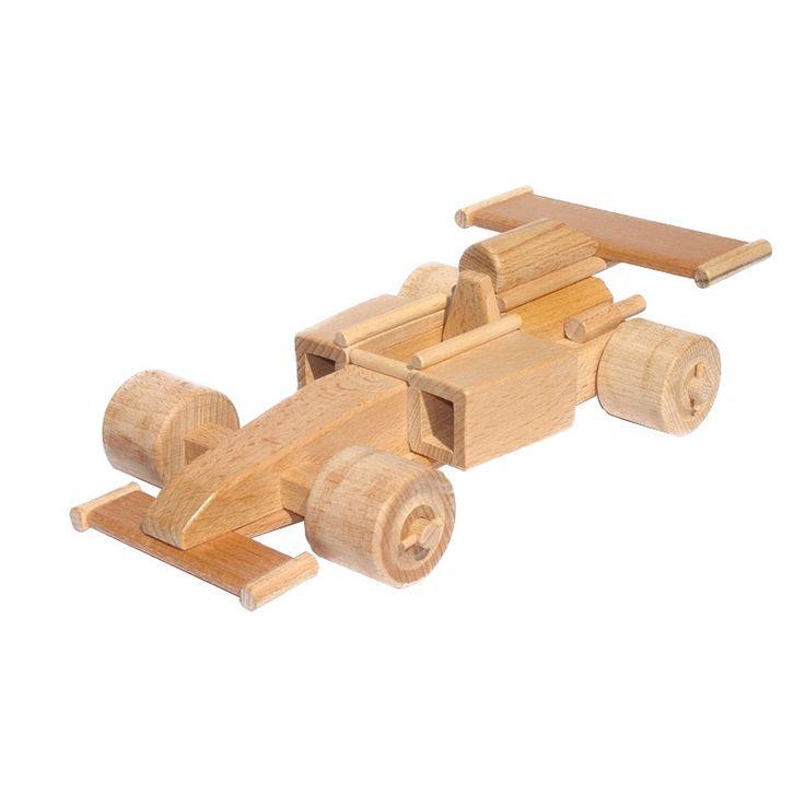Wooden Formula 1 Racing Car Max Juguetes Wood Toys