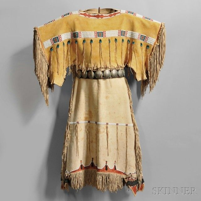 297 best images about southern plains buckskin dress on for Native crafts for sale