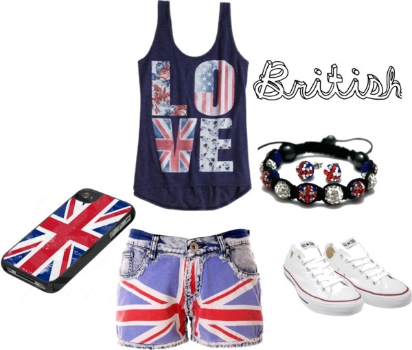 """British"" by gracieinscho on Polyvore"