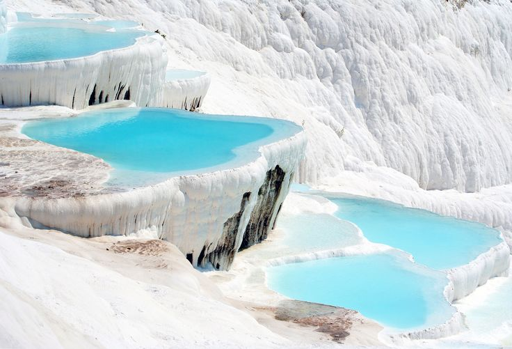 Pamukkale Turkey  #tourist #attractions #Turkey, #historical