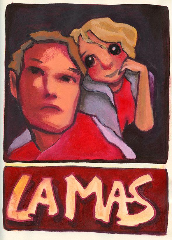 'La Mas'  Illustratie uit Dummy 10 By Hilda Groenesteyn /  studio Hille