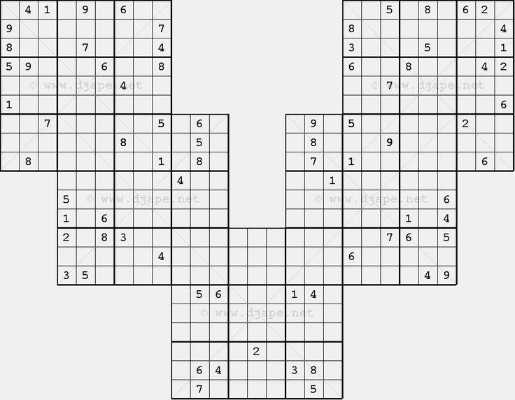 Diagonal Sudoku Wing X