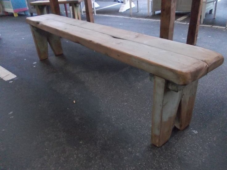 Ländlich Robuste Sitzbank aus Massiv Alt Holz L2m - sitzbank holz selber bauen