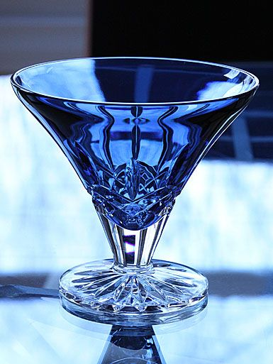 Blue Waterford Crystal - I'm kind of old school when it comes to Waterford... but I wouldn't turn down blue when it looks like this.