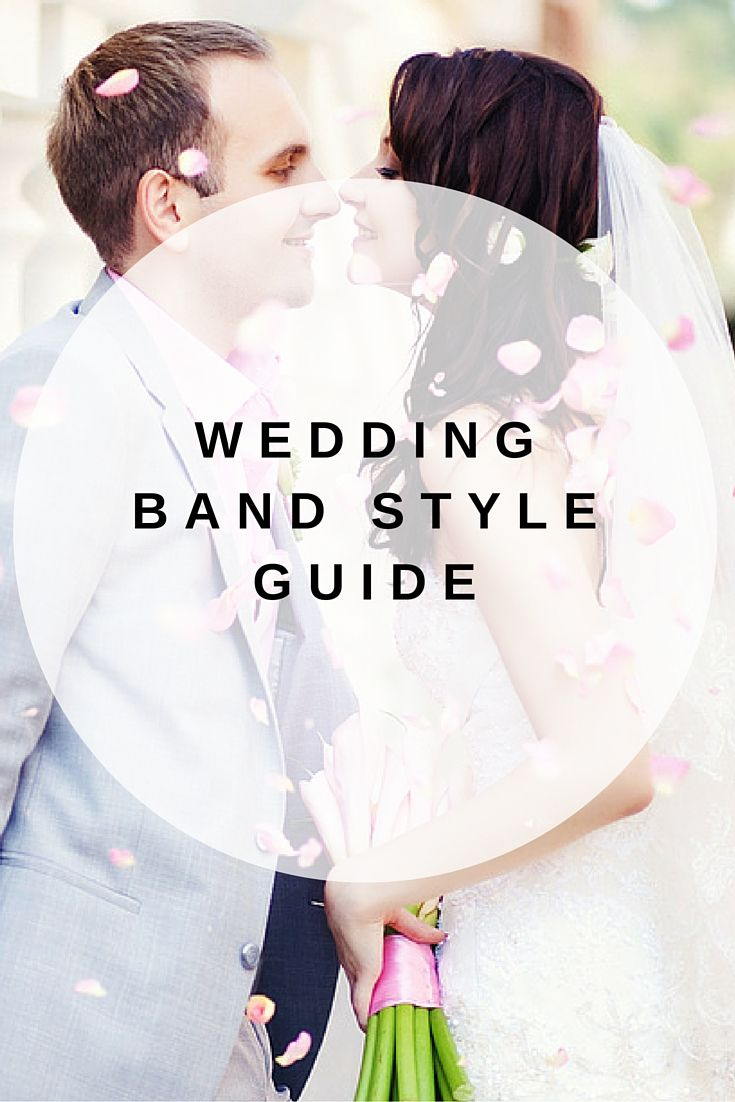 How to choose the perfect men's and women's bands based on size, shape, metal and style preference.